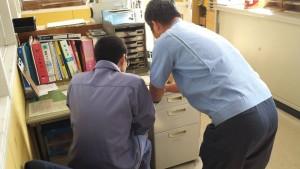 宮崎工業高校2年生3名が10月20日から3日間、インターンシップを行いました。 3年前から、採用活動の一貫として受け入れています。